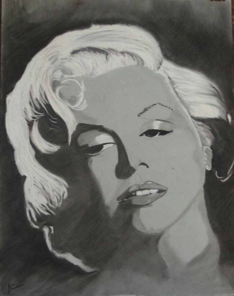 Marilyn Monroe by Jean-61